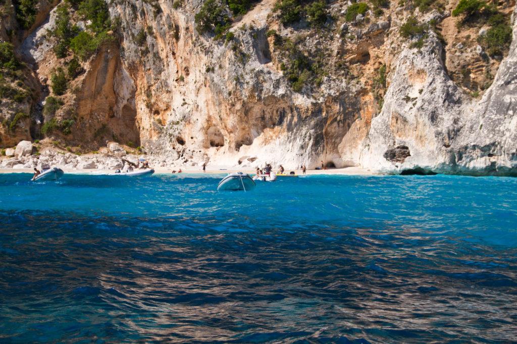 charter a yacht in Sardinia