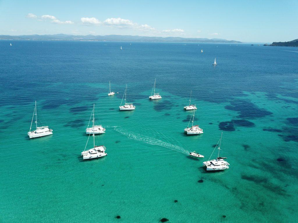 rent a catamaran in Porquerolles