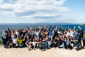 C&B Team in Porquerolles