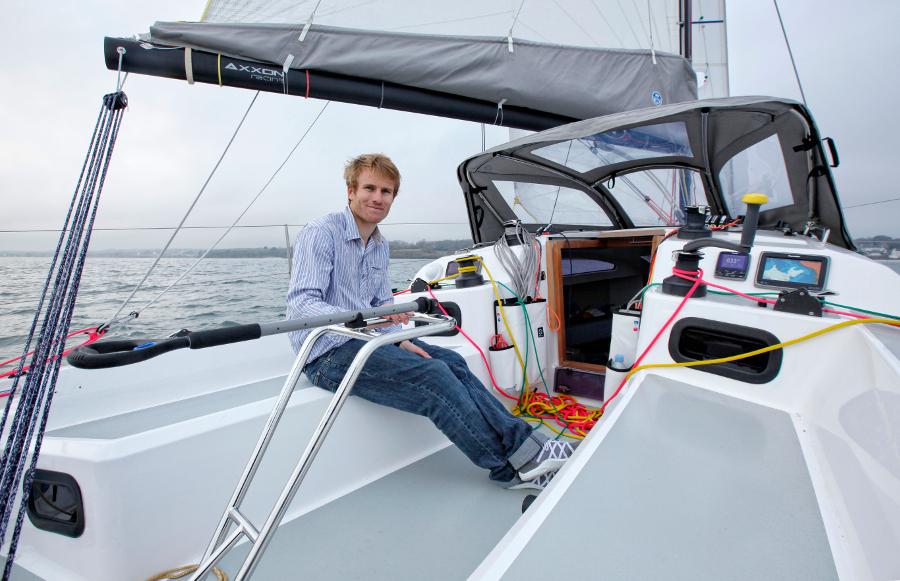 Gabart, Click&Boat ambassador and investor
