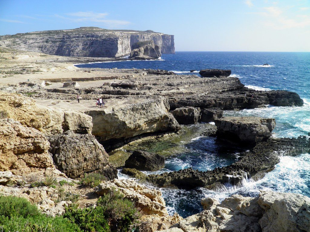 hire a boat in Gozo