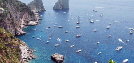 Sailing in Capri