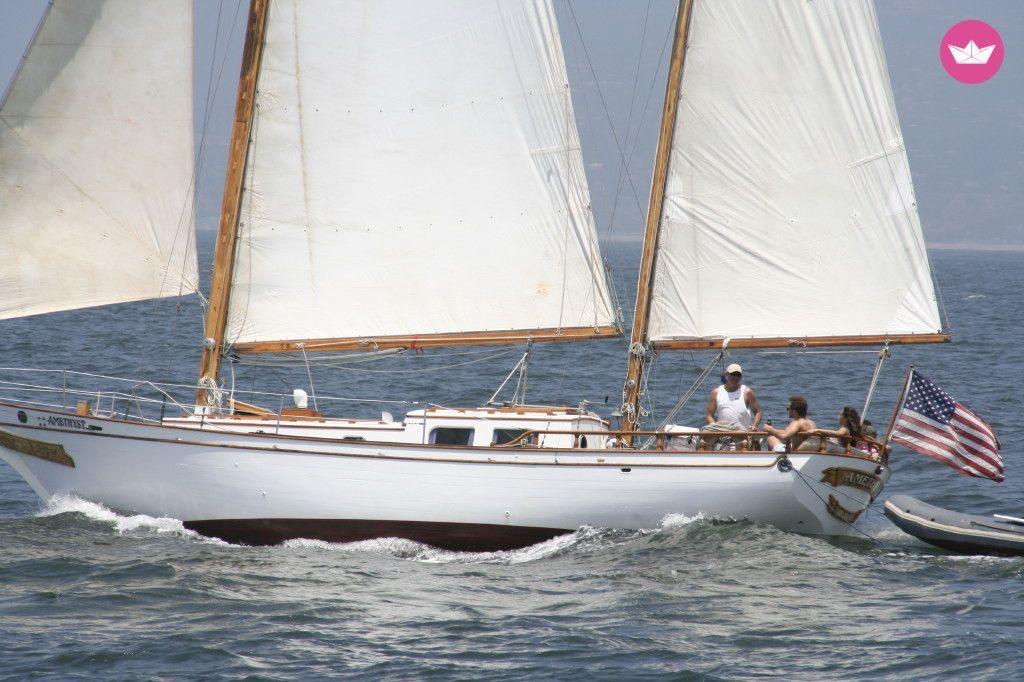rent a classic sailboat