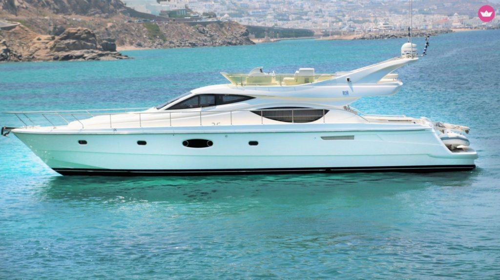 hire a yacht Mykonos