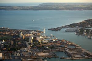 Bournemouth from the sky