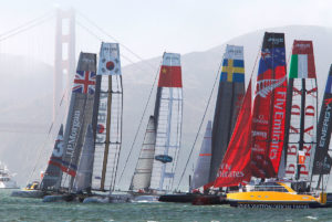 America's Cup Sailing Race