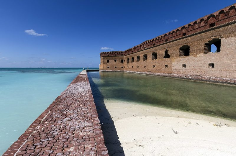 View of the Dry Tortugas National Park