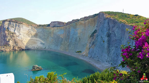 secret beach in Italy