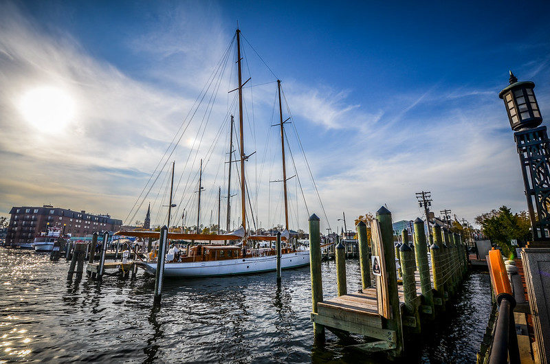Annapolis, Maryland and Sailboats Rentals