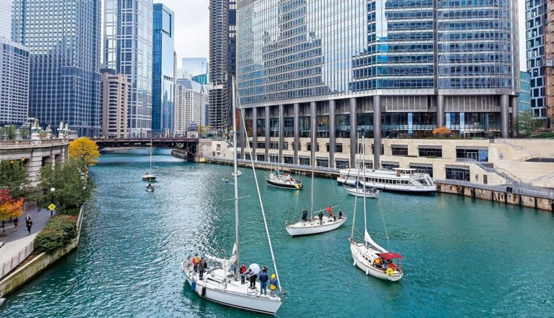 Sailboat Rentals on the Chicago River