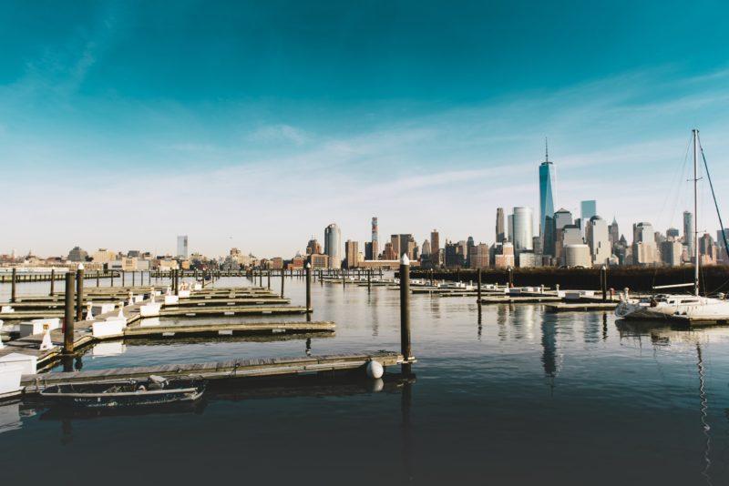 Marina in New York City