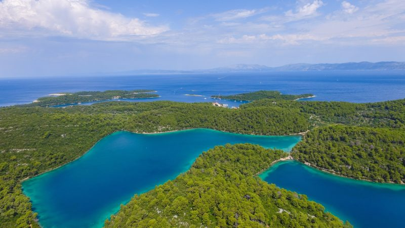 View of Mljet Island
