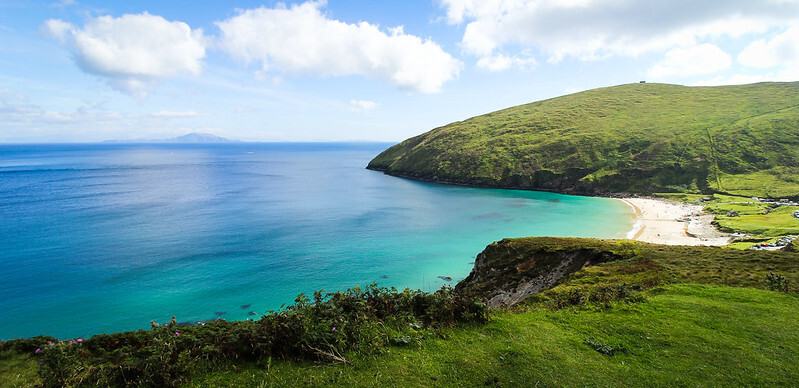 Keem bay. UK's best beaches.