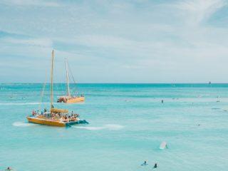 Sailing on a Catamaran Rental
