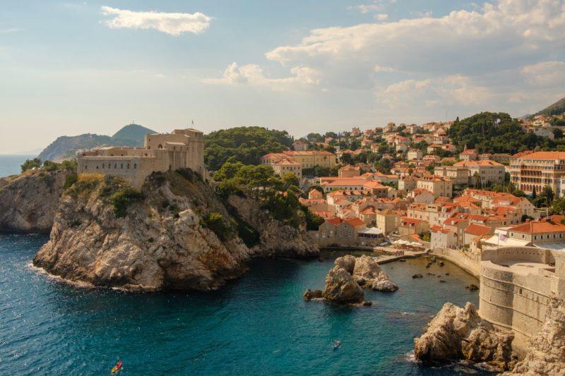 Sailing to Dubrovnik, Croatia