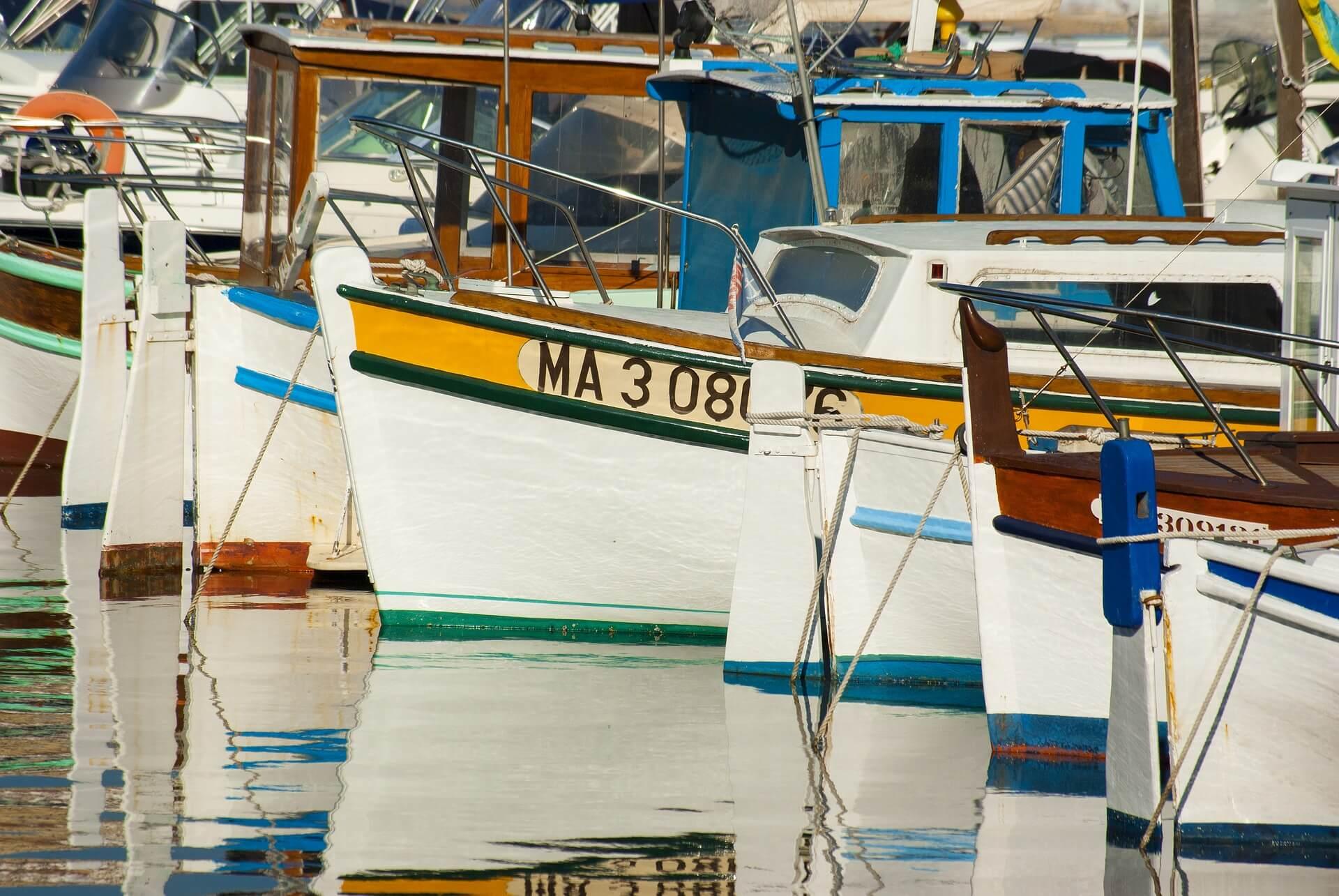 Barcos tipicos de Marsella