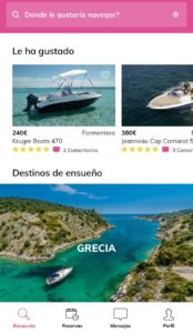 Click&Boat aplicacion movil