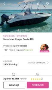 aplicacion click&boat