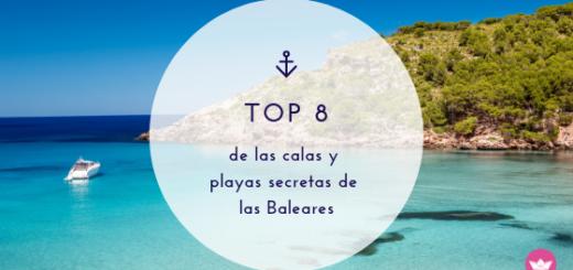 playas escondidas Baleares