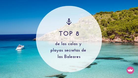 playas escondidas Baleares