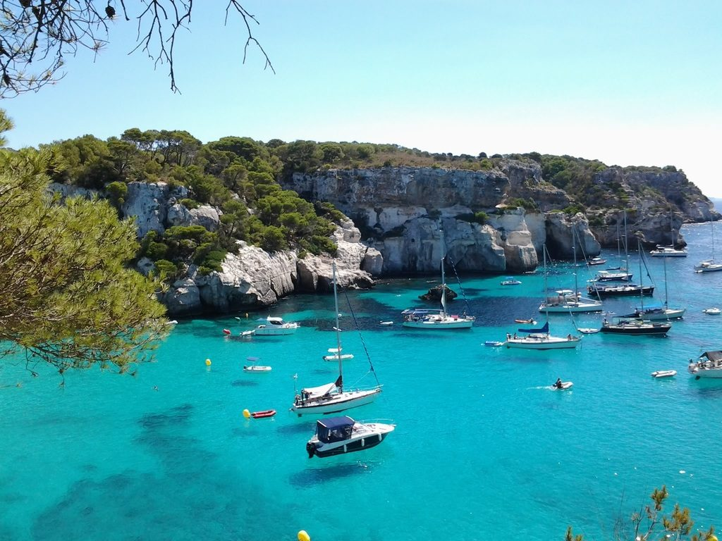 Alquiler de barcos Menorca