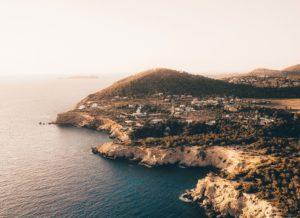 acantilados de Ibiza