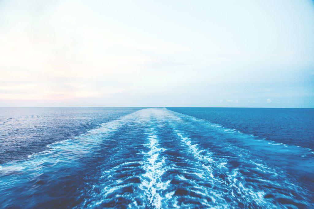 Navegación en un barco