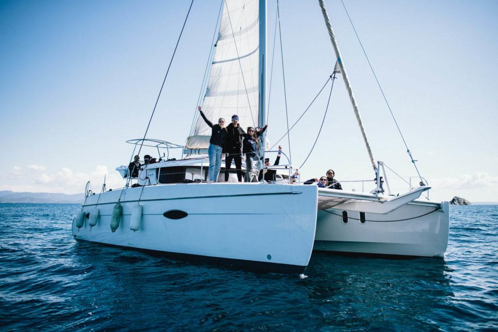 Vacaciones en catamarán