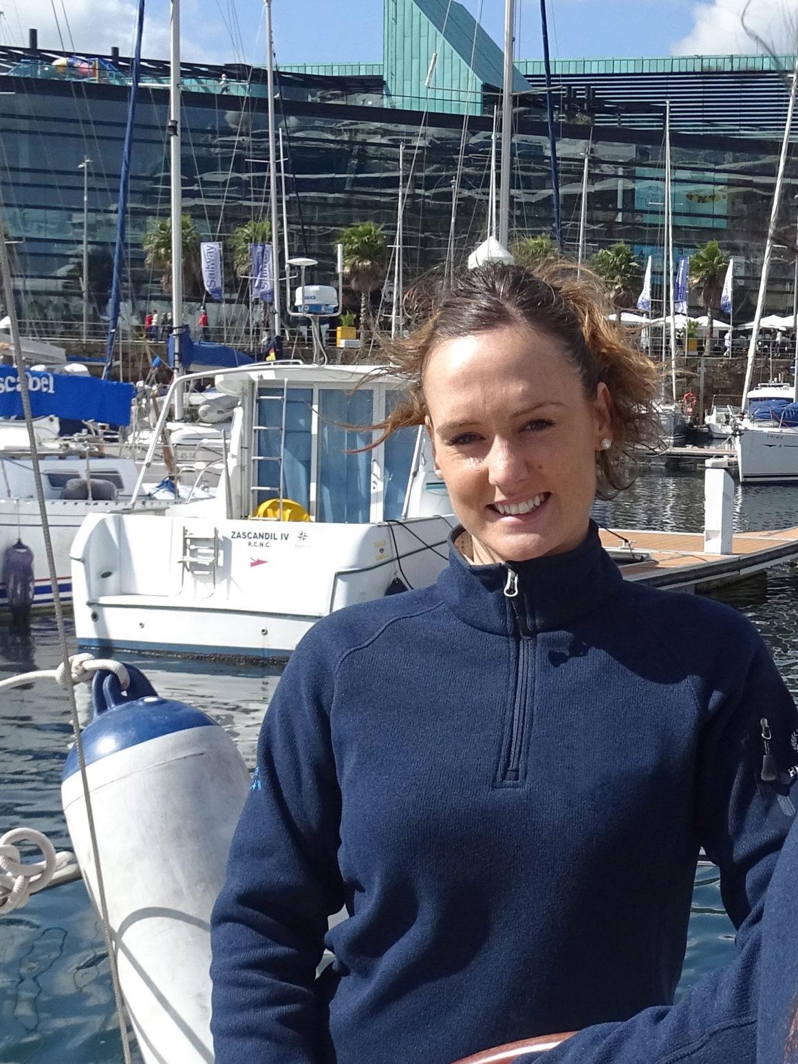 Propietaria de un barco en Galicia