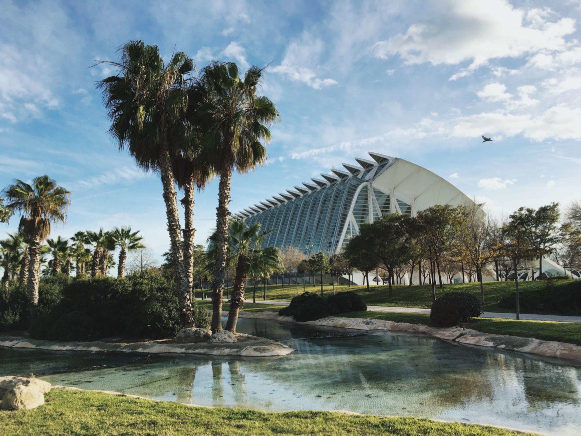 La Ciudad de las Ciencias y las Artes en Valencia