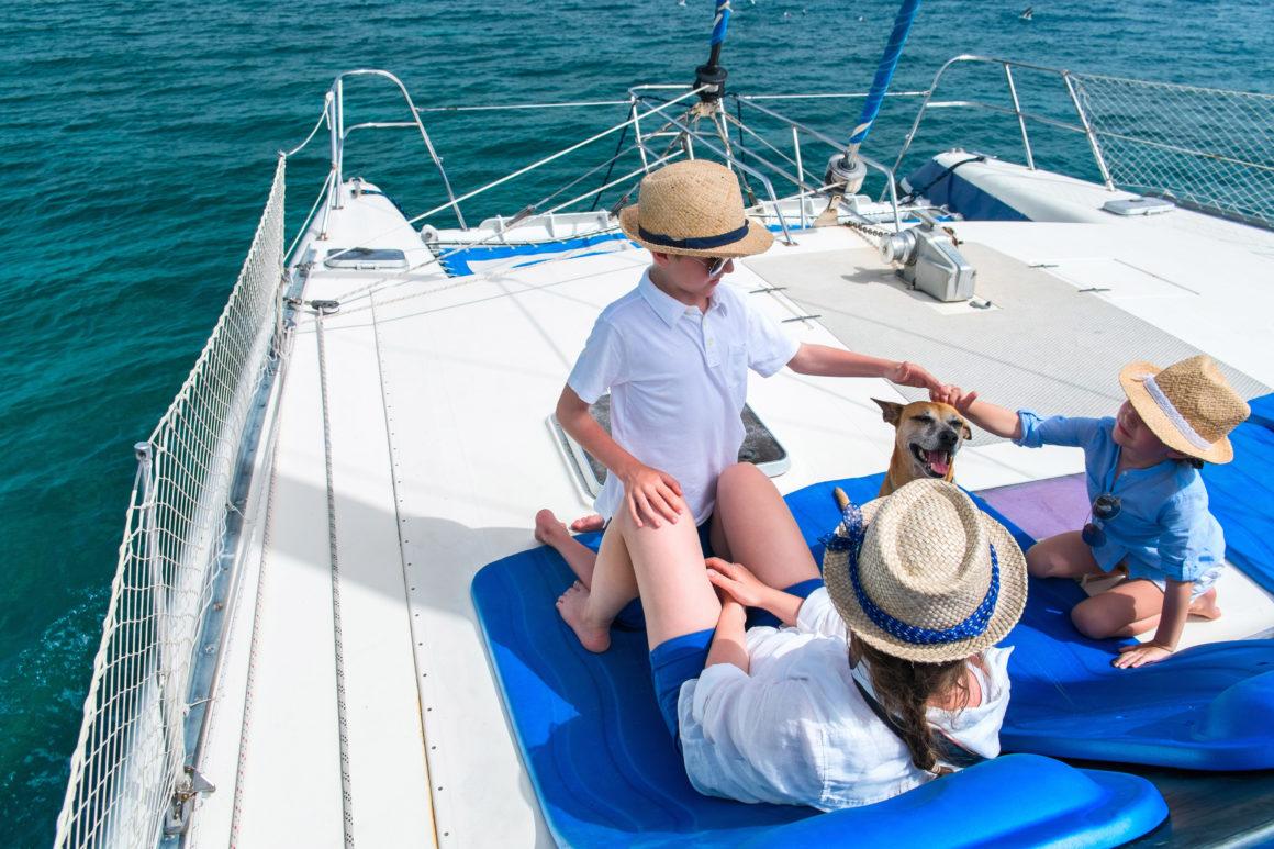 viaje con niños a bordo