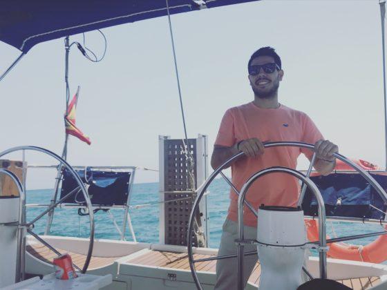 alquiler de barcos en Denia con Miguel