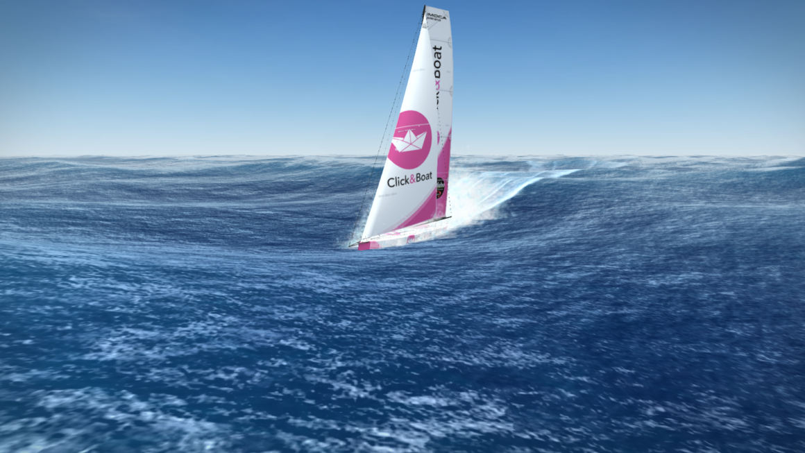Modelo de velero para Virtual Regatta