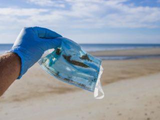 Es importante limpiar playas para evitar imágenes como esta