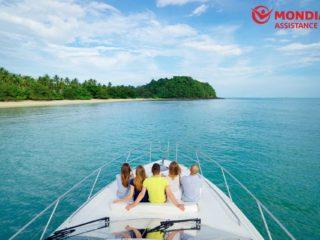 barco con seguro de cancelación de viajes