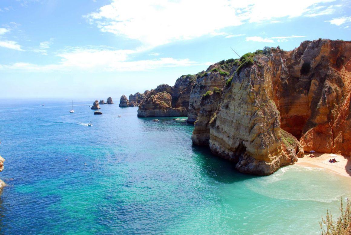Una de las playas más bonitas de Portugal