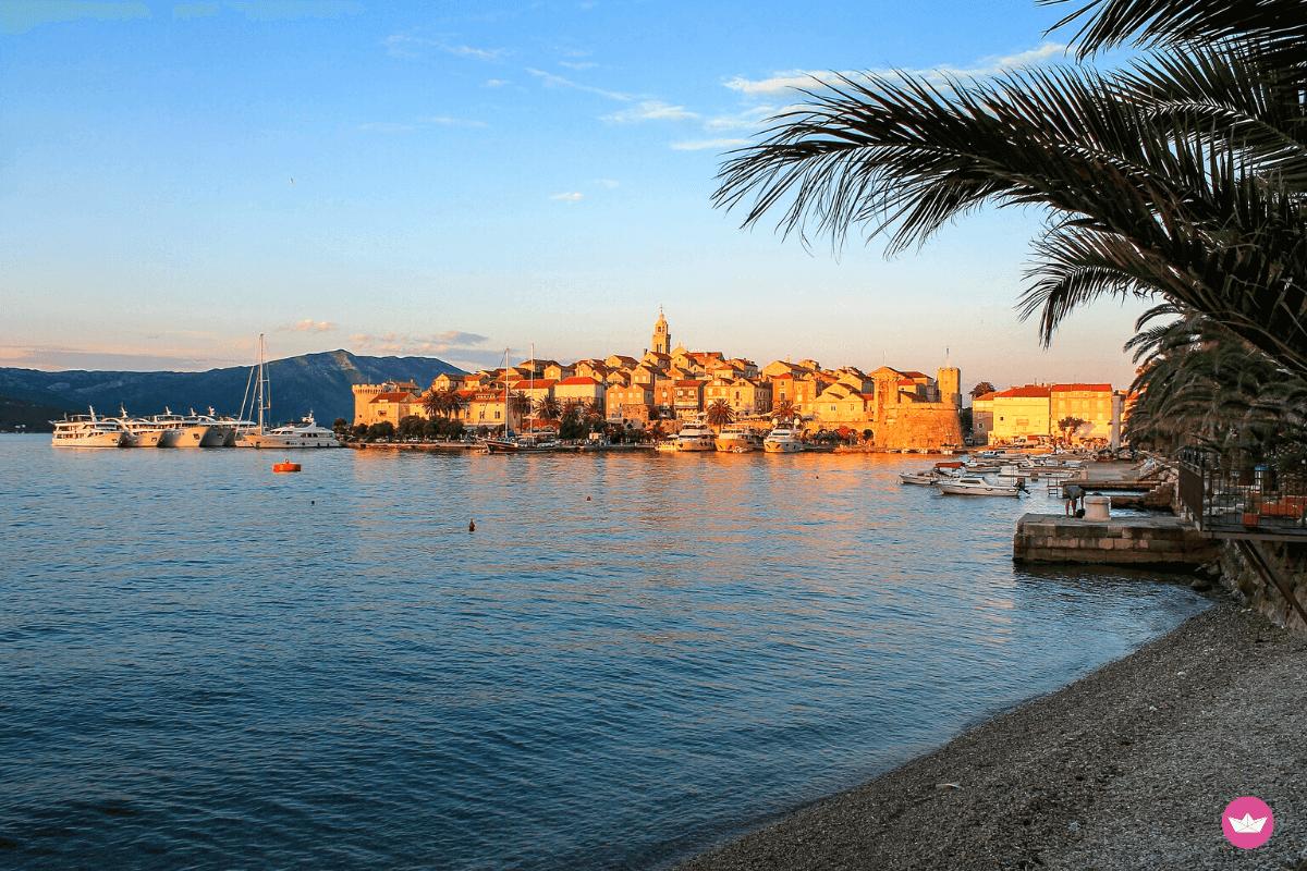 isola di curzola in croazia
