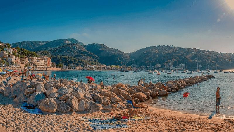 spiaggia a soller