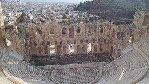 Noleggio barche teatro Atene