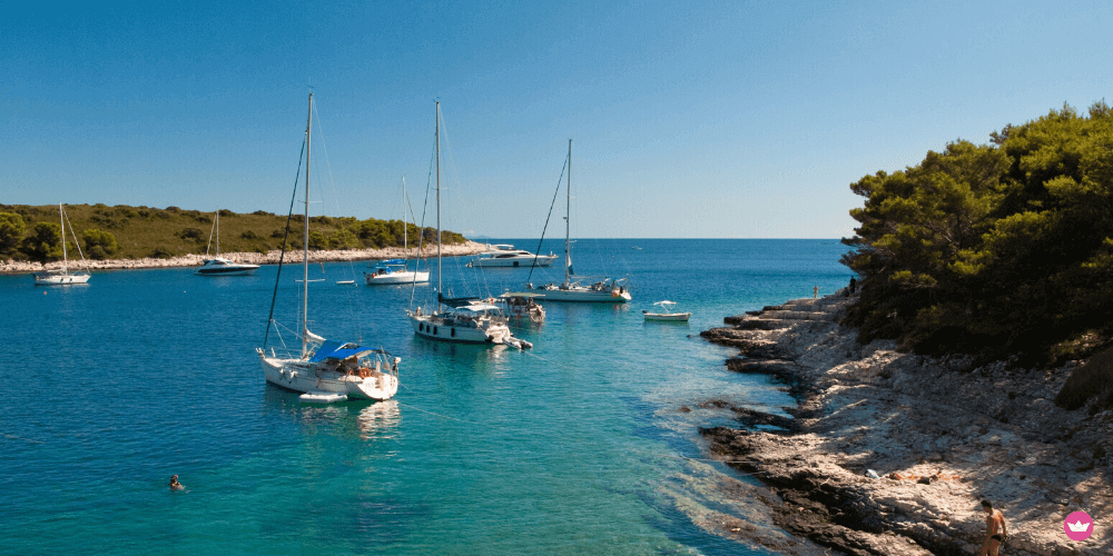 ormeggi più famose della croazia