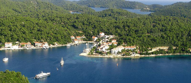 ormeggio isola Mljet