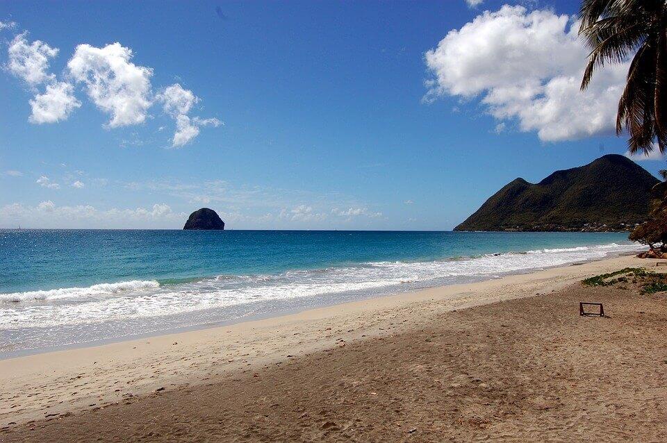 Spiaggia le Diamant Martinica