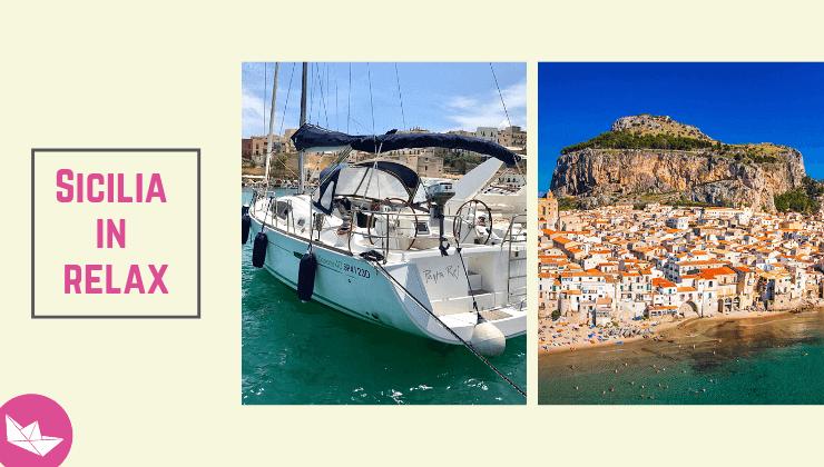 barca a vela in sicilia