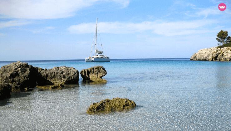 noleggio catamarano a minorca