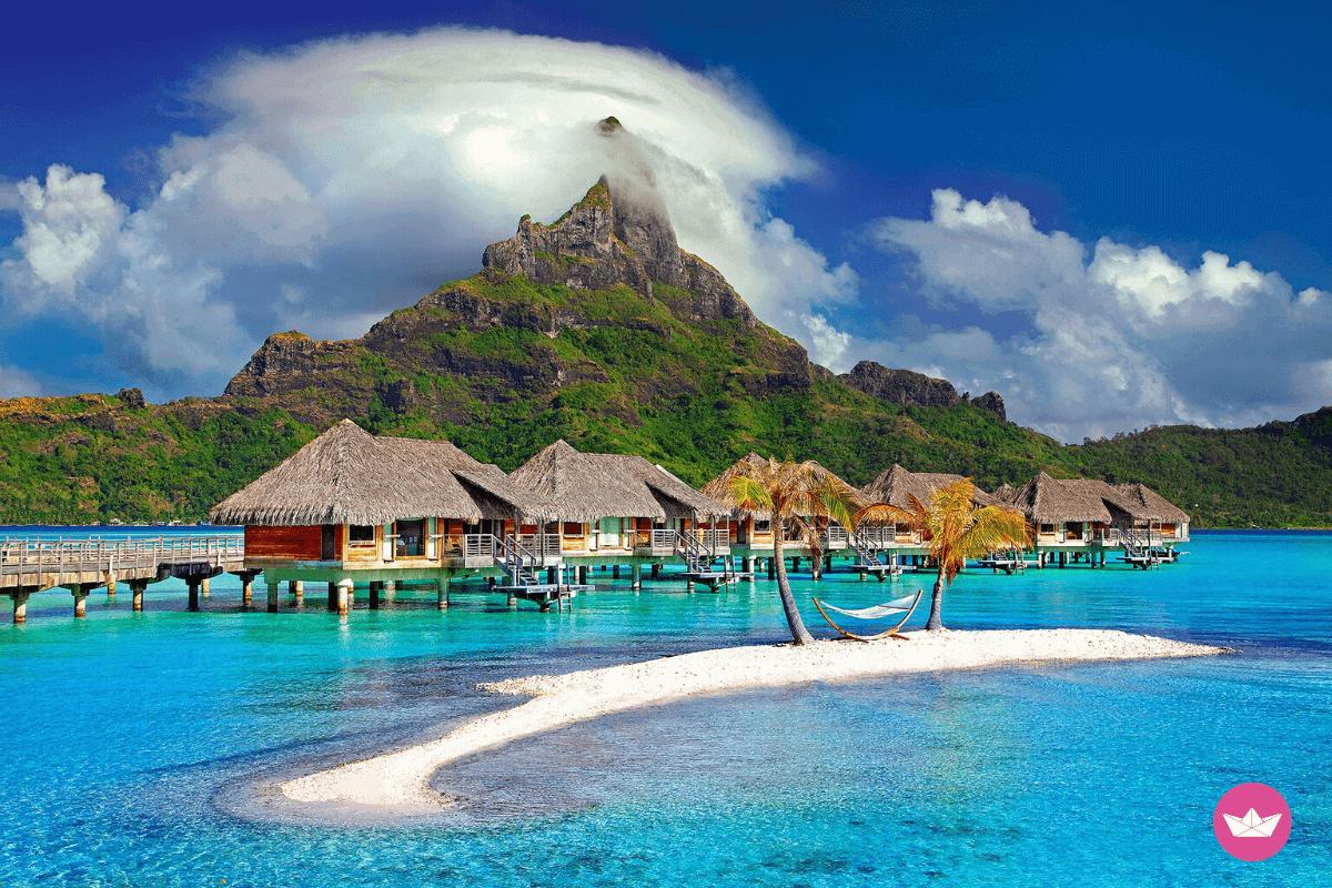 Paesaggio Bora Bora