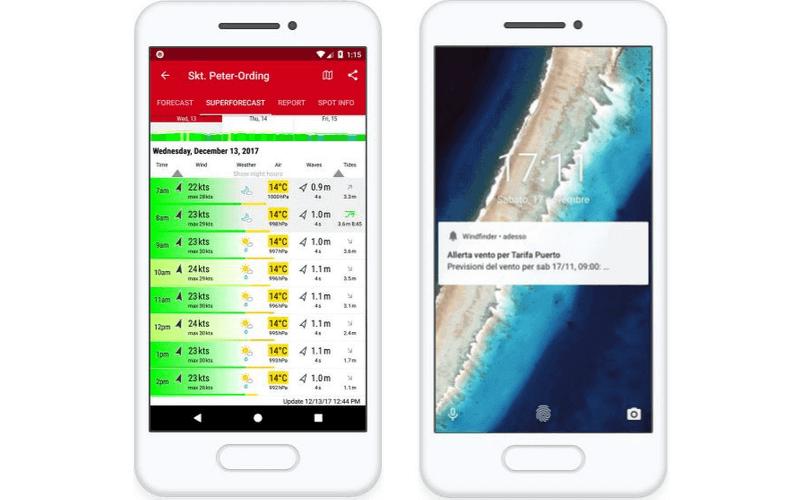 app nautiche windfinder