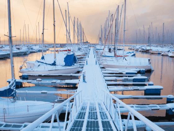noleggio barche in inverno