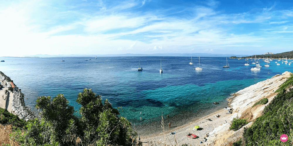 in barca nel sud della francia