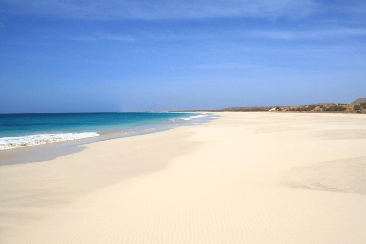 spiaggia di capo verde