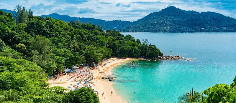 spiaggia a phuket